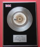 DAVID SOUL - Don't Give Up On Us PLATINUM Single Presentation DISC